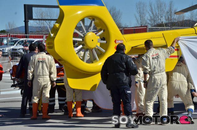 Evacuación de Fernando Alonso - LaF1