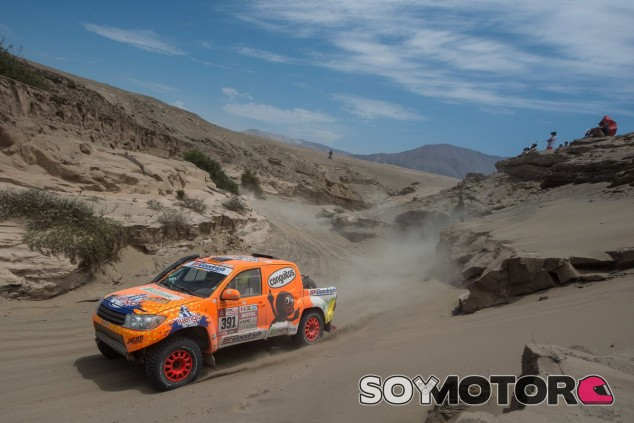 Jesús Calleja en el Dakar 2018 – SoyMotor.com