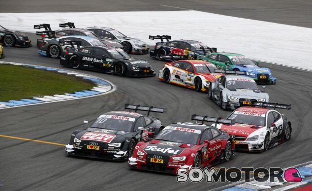 Salida de una de las carreras del DTM en la última cita de la temporada en Hockenheim - SoyMotor