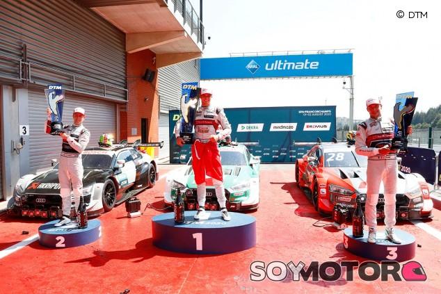 DTM: Desfile Audi en Spa, copando las cinco primeras posiciones - SoyMotor.com