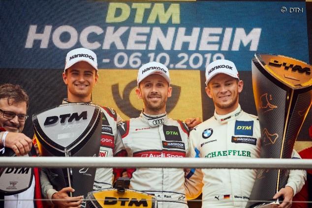 Podio de la última carrera del DTM 2019 - SoyMotor