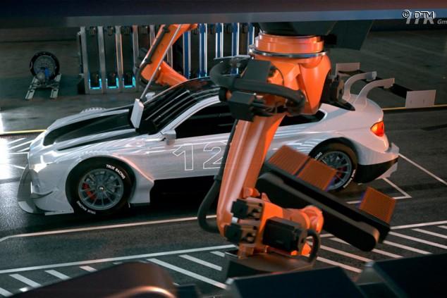 Hidrógeno y paradas con robots: así puede ser el DTM del futuro - SoyMotor.com