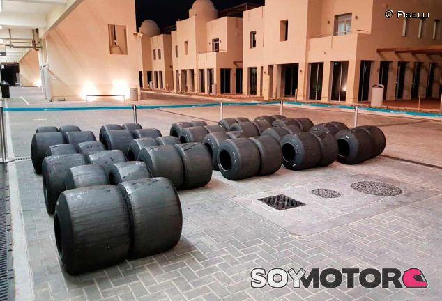 Neumáticos 2017 de Pirelli en Abu Dabi - LaF1
