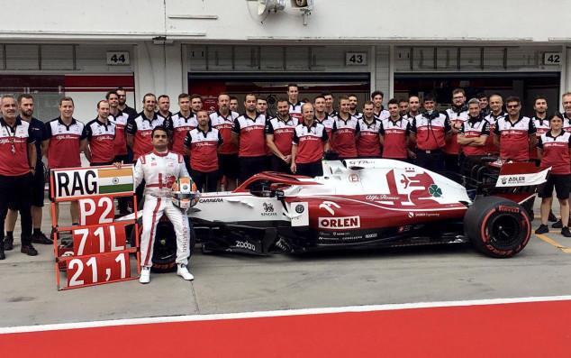 Mahaveer Raghunathan se estrena en F1 con un test privado junto a Alfa Romeo - SoyMotor.com