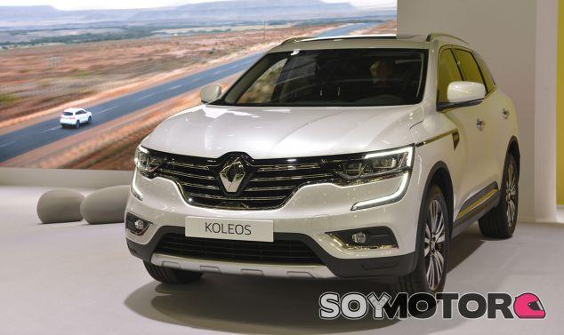 Renault Koleos 2017: De visita en el Salón de Barcelona