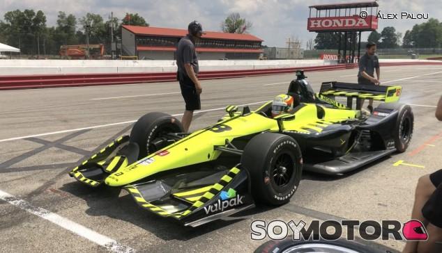 Alex Palou, piloto de Dale Coyne en la IndyCar 2020 - SoyMotor.com
