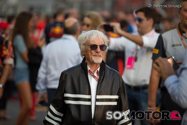 Bernie Ecclestone en el GP de Abu Dabi - SoyMotor