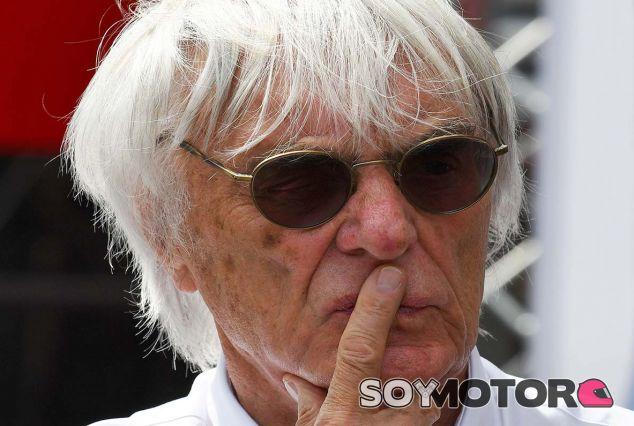 Bernie Ecclestone en Austria - SoyMotor.com