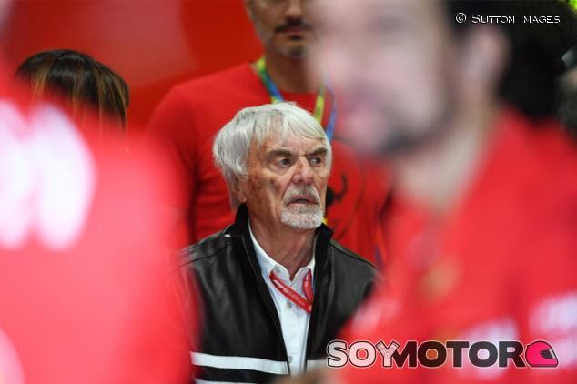 Ecclestone reprende a la FIA por hacer público el trato con Ferrari - SoyMotor.com