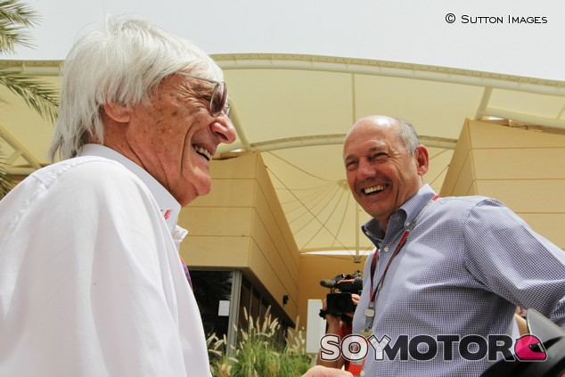 "Ecclestone: ""McLaren debe encontrar a otro Dennis para volver a ser fuerte"" - SoyMotor.com"