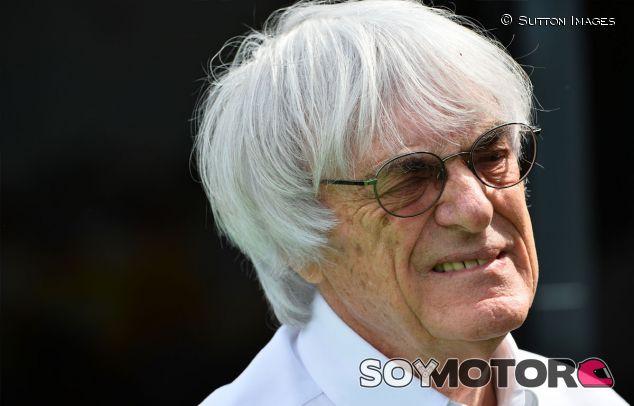 Bernie Ecclestone en el pasado Gran Premio de España - LaF1