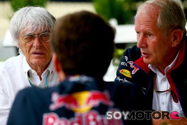 Ecclestone devuelve la amenaza a Red Bull: si se van, habrá consecuencias - LaF1