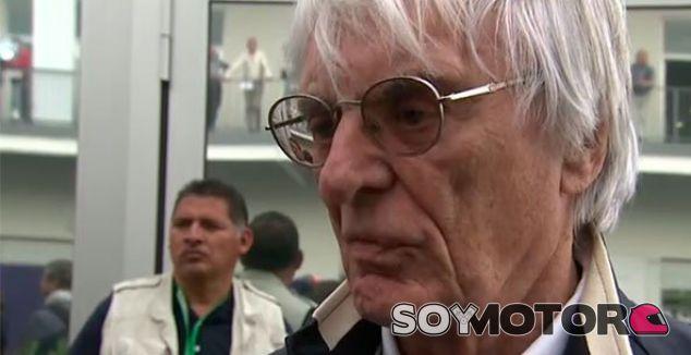 Ecclestone, durante el pasado GP de México - LaF1