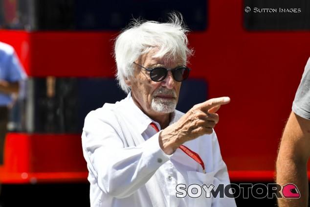 Bernie Ecclestone, en Austria - SoyMotor.com