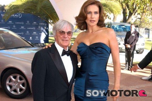 Bernie y Slavica Ecclestone - LaF1