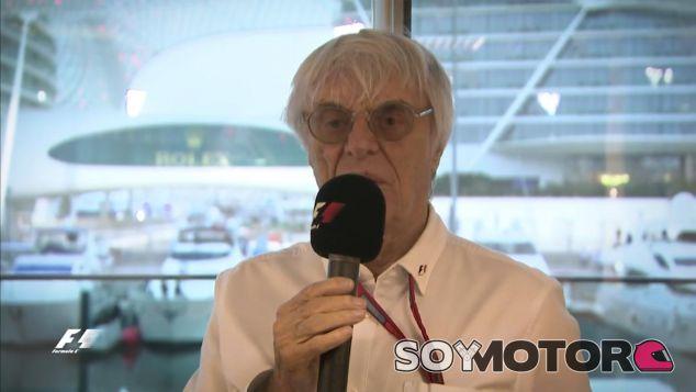 Fotograma de Bernie Ecclestone en el mensaje a Max Verstappen - LaF1