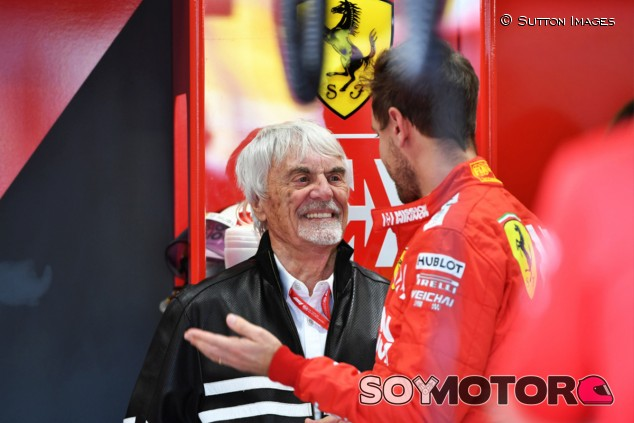 Ecclestone no apostaría que Vettel seguirá en Fórmula 1 en 2021 - SoyMotor.com