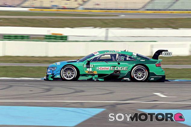 Edoardo Mortara a los mandos de su Audi - LaF1