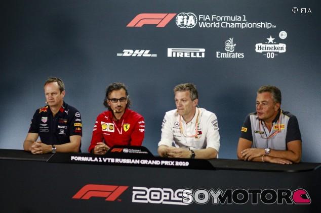 GP de Rusia F1 2019: Rueda de prensa del viernes  –SoyMotor.com