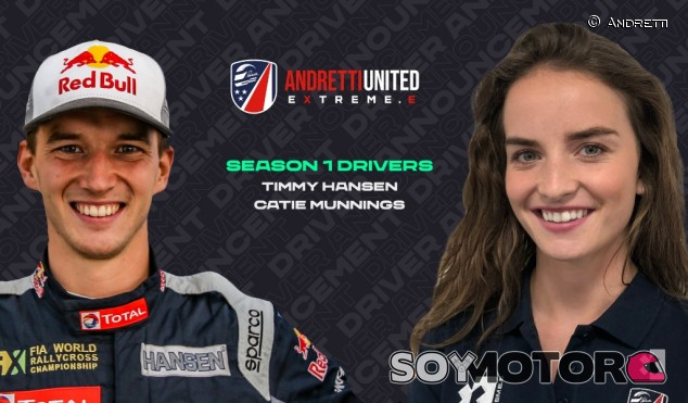 Timmy Hansen y Catie Munnings se unen a Andretti United  - SoyMotor.com