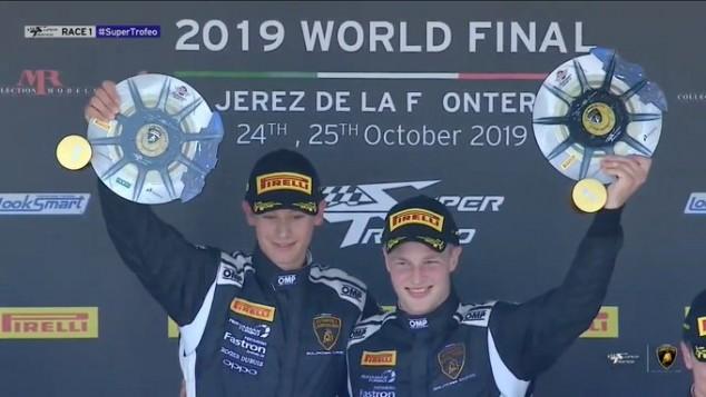 Jonathan Cecotto triunfa en el Súper Trofeo Lamborghini Europeo y Mundial – SoyMotor.com