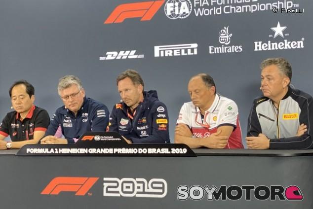 GP Brasil F1 2019: Rueda de prensa del viernes –SoyMotor.com