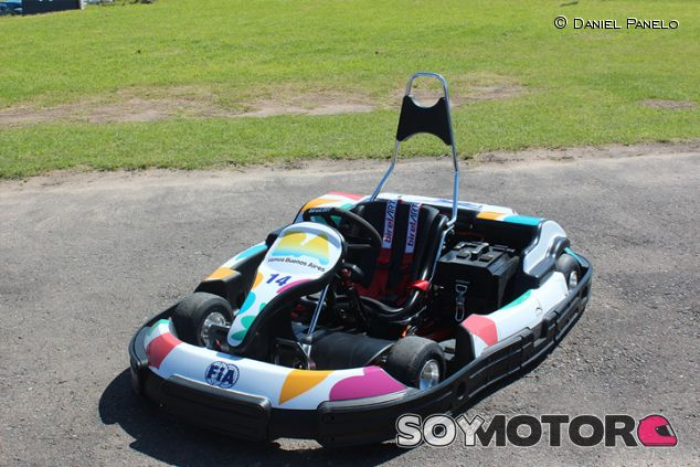 Kart eléctrico en el kartódromo de Buenos Aires - SoyMotor.com