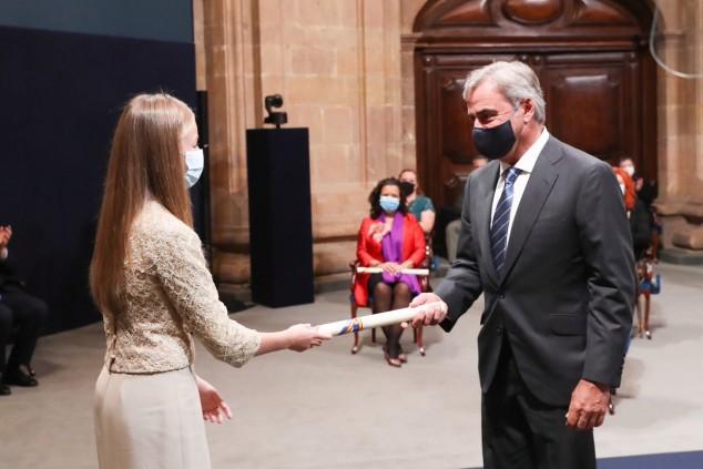 Sainz recibe el premio Princesa de Asturias de los Deportes 2020 - SoyMotor.com