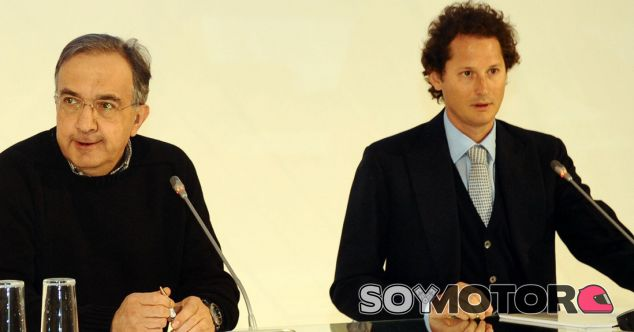 Elkmann y Marchionne juntos - LaF1.es