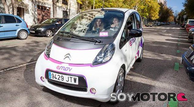 El nuevo coche compartido de Madrid, Emov, ya tiene 50.000 clientes - SoyMotor.com
