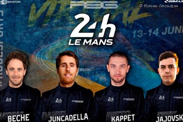 Juncadella correrá las 24 horas de Le Mans virtuales con el equipo de Grosjean - SoyMotor.com