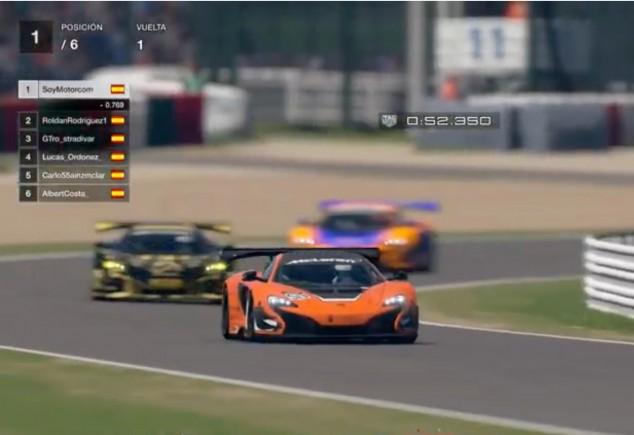 Sainz, Rosaleny... y unas carreras virtuales de cuarentena - SoyMotor.com