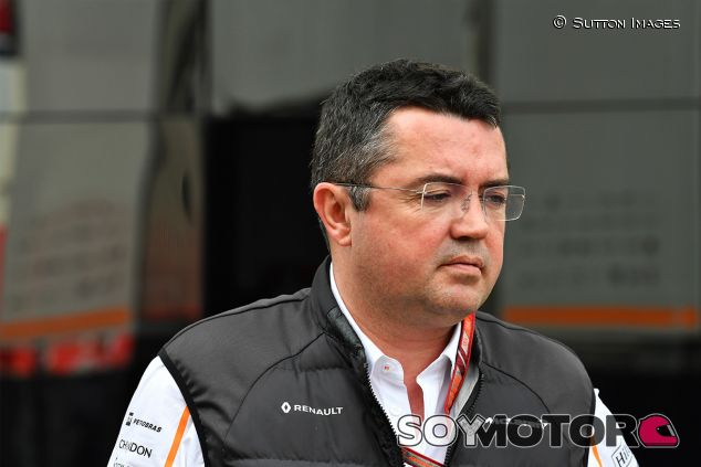 Éric Boullier en Barcelona - SoyMotor.com