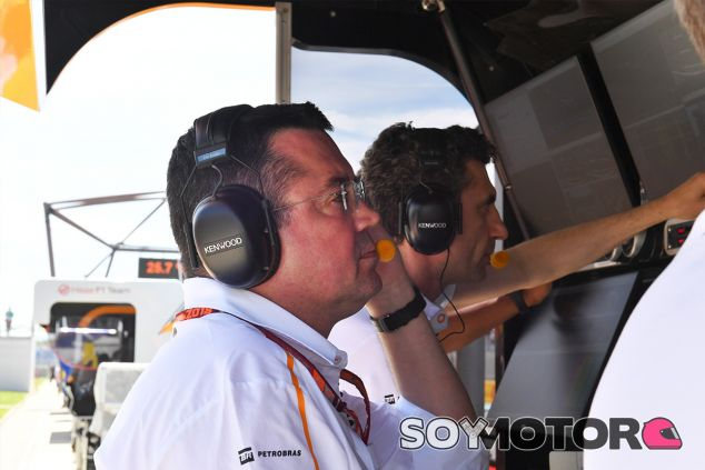 Éric Boullier en Paul Ricard - SoyMotor.com