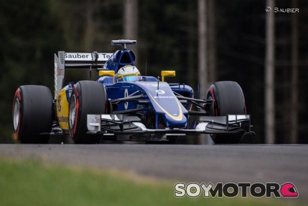 Marcus Ericsson con el Sauber C34 en Austria - LaF1
