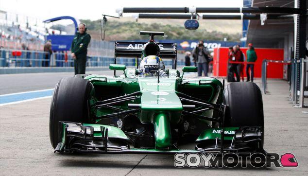 Marcus Ericsson en los test de Jerez - LaF1