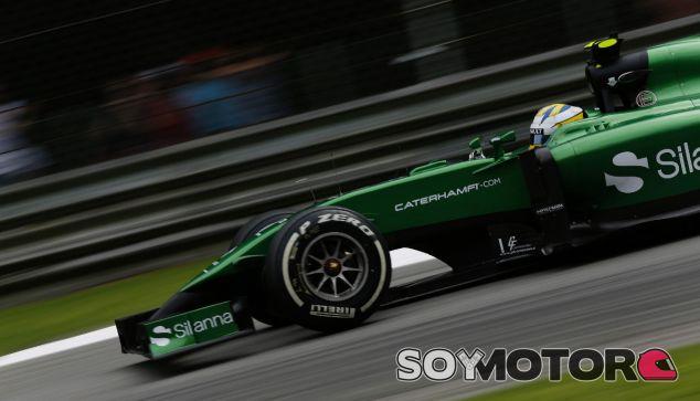 Caterham en el GP de Italia F1 2014: Sábado