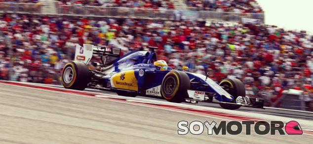 Ericsson, durante el GP de México - LaF1