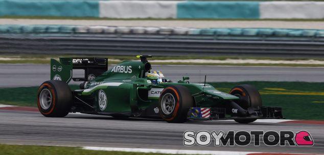 Caterham en el GP de Malasia F1 2014: Domingo