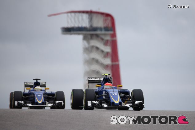 Felipe Nasr y Marcus Ericsson en Austin - LaF1