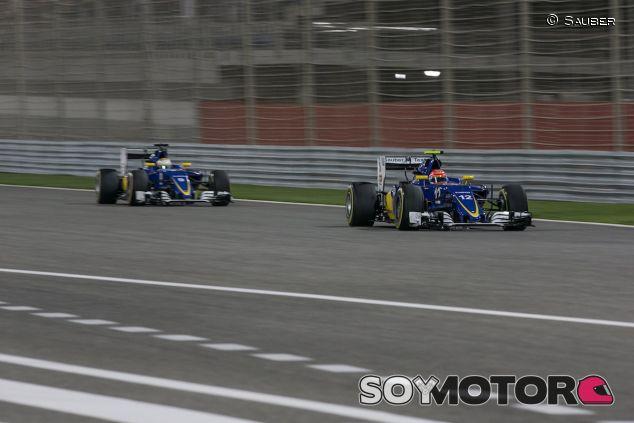 Felipe Nasr y Marcus Ericsson en Baréin - LaF1