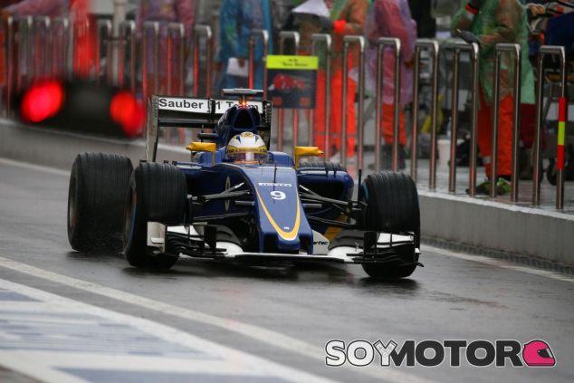 Ericsson lamenta que un fallo en el embrague le restara más tiempo en la pista - LaF1