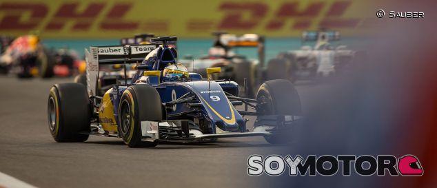 Marcus Ericsson en el GP de Abu Dabi - LaF1