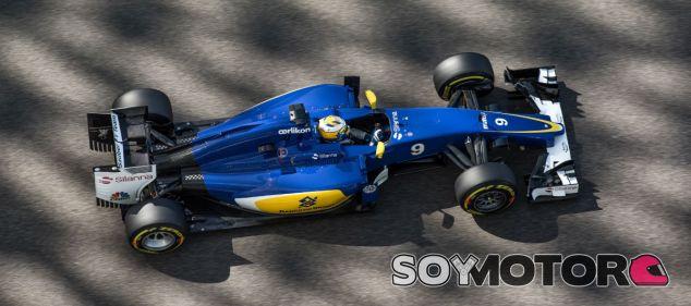 Marcus Ericsson en Abu Dabi 2015 - LaF1