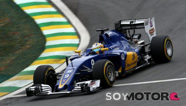 Ericsson, durante la calificación del GP de Brasil - LaF1