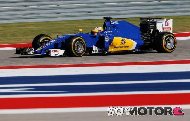 Marcus Ericsson en el GP de Estados Unidos - SoyMotor