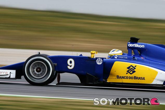 Marcus Ericsson, hoy en Montmeló - LaF1