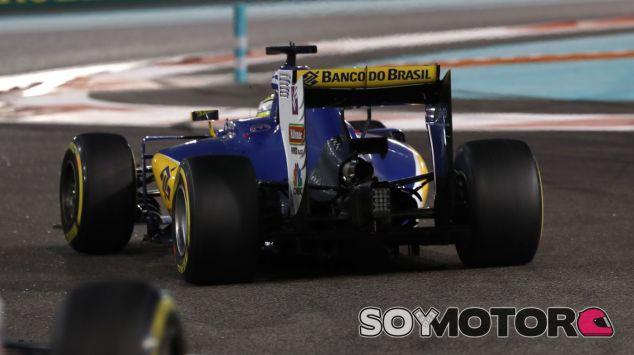 Ericsson durante la carrera de Abu Dabi - LaF1