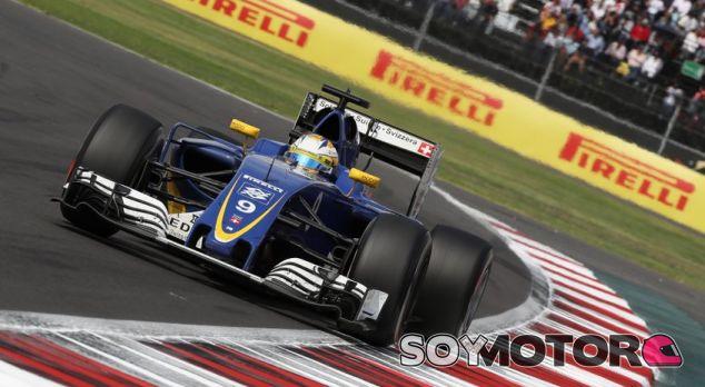 Ericsson, durante la carrera en el GP de México - LaF1