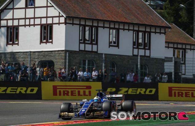 Marcus Ericsson en Spa - SoyMotor.com